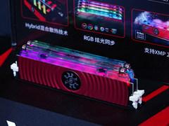 油冷内存降临ChinaJoy 威刚XPG同时展出多款外设产品