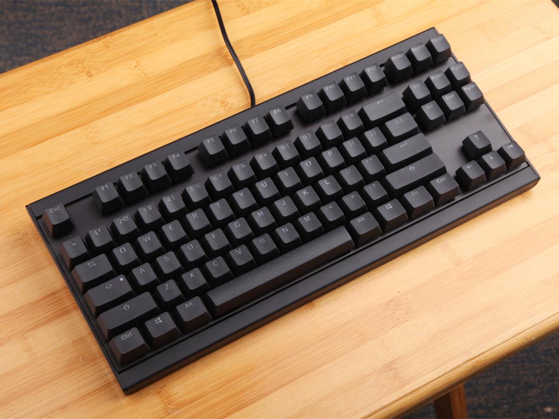 简洁设计 蓝色背光  魔力鸭P1/P2系列机械键盘评测