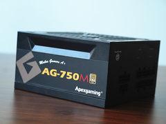 399元超高性價比 Apexgaming AG-750M金牌全模組電源圖賞