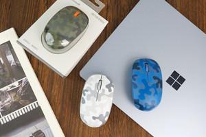 12个月超长续航 微软精巧鼠标迷彩特制版图赏