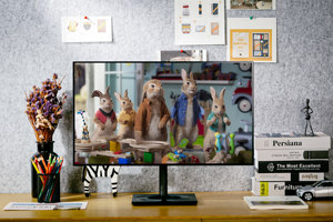 窄边框全面屏 飞利浦四边零界悬浮屏显示器279C9图赏