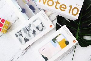 印象派与8比特 Redmi Note 10 Pro保护壳实拍
