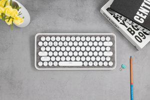 雷柏ralemo Pre 5布艺版机械键盘图赏 呈现布艺美感