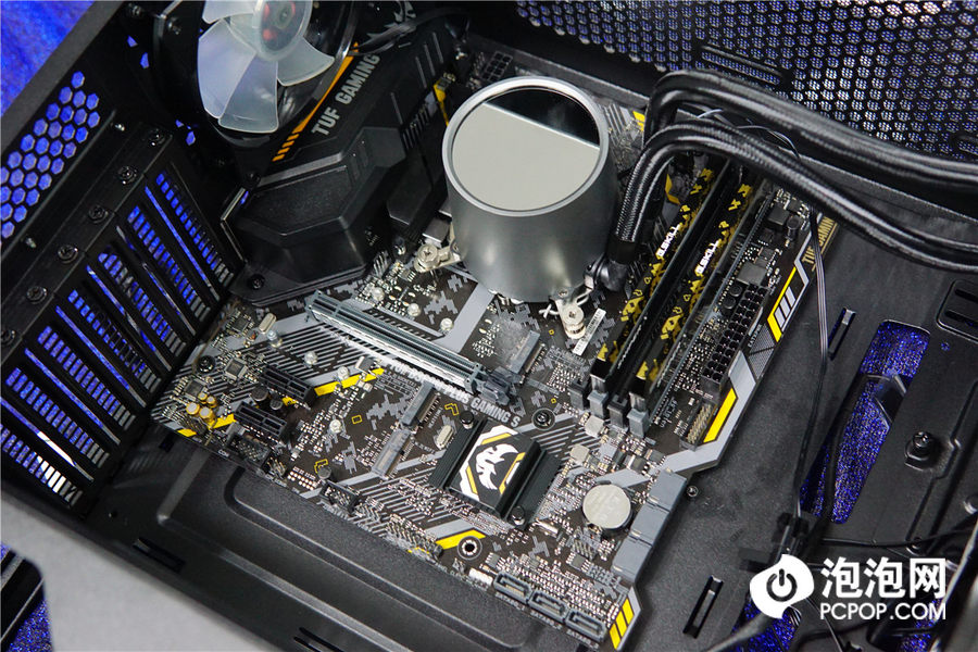 电竞特工集结 华硕tuf b360-plus gaming s装机实战