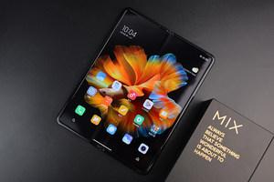经典黑色,未来科技 小米MIX FOLD图赏