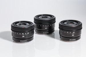 """轻便小巧""""三胞胎"""" 索尼G镜头50mm/40mm/24mm图赏"""